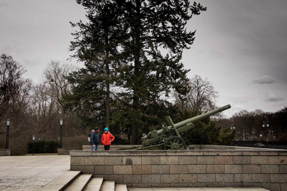 Monumento sovietico de Tiergarten