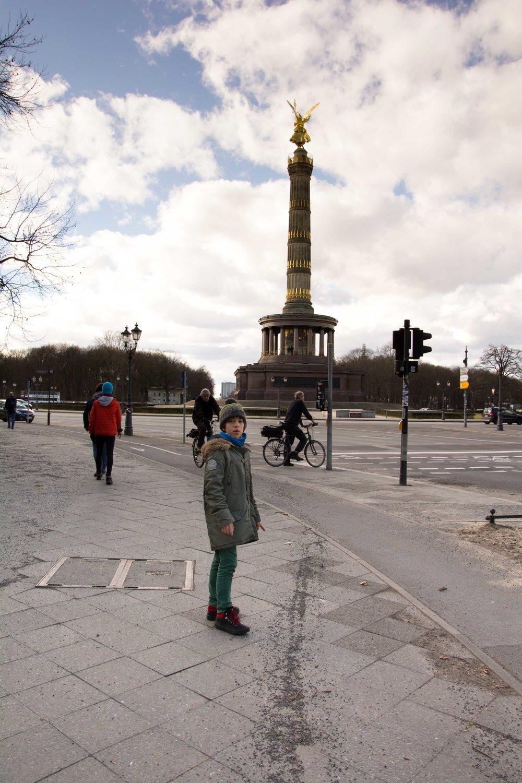 Berlin. La columna de la victoria
