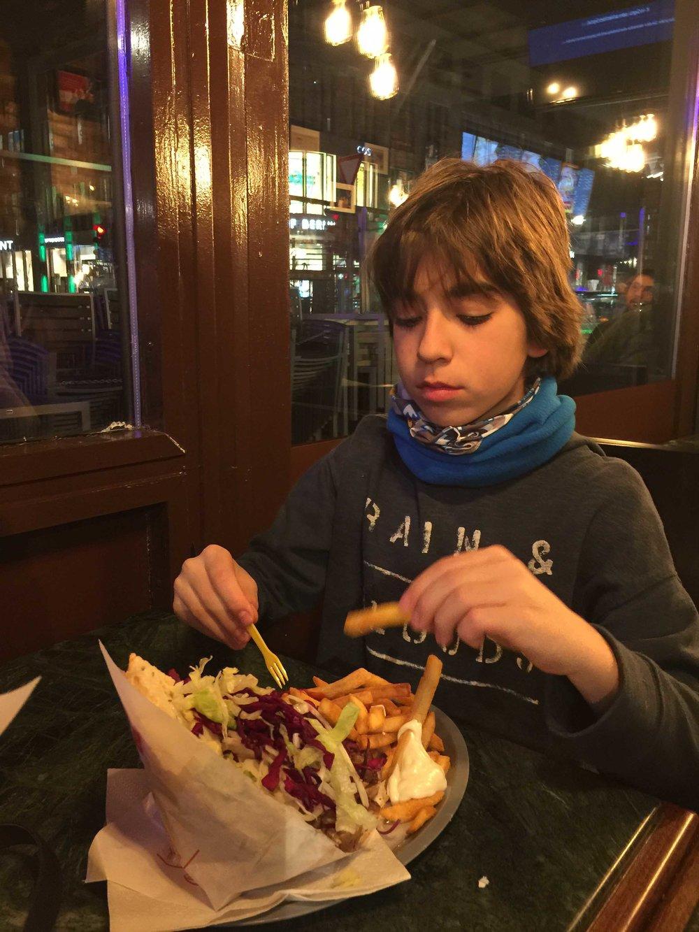 Restaurante turco, Berlin