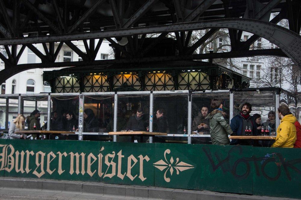 Burgesmeister, Berlín