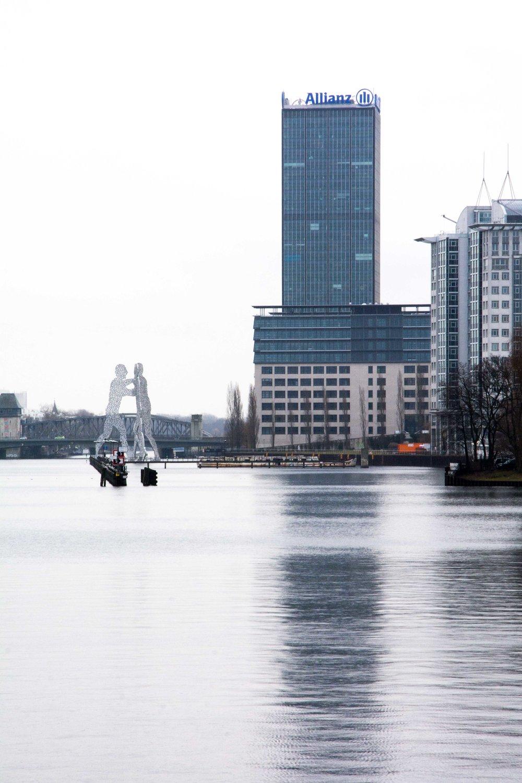 Vistas desde el puente de Oberbaum, Berlín
