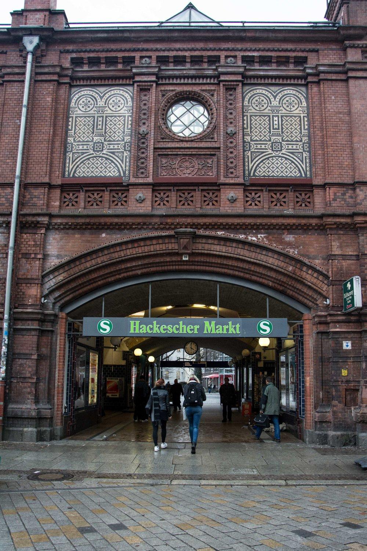 Hackescher Markt, Berlín
