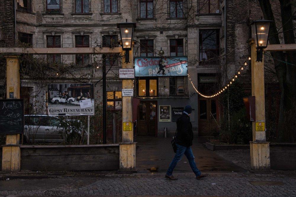 Scheunenviertel. Barrio judío Berlín