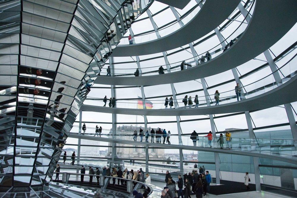 Cupula Parlamento Berlin