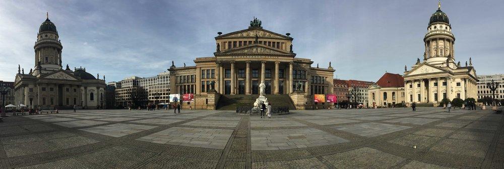 Panoramica Gendarmenmarkt