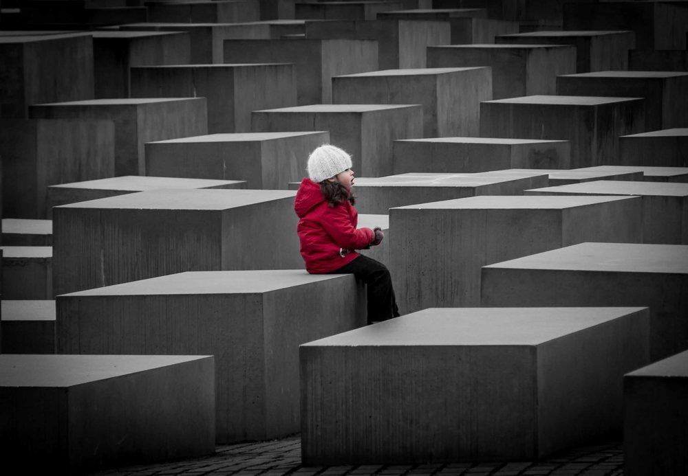 6 dias en Berlin. Monumento a los judíos