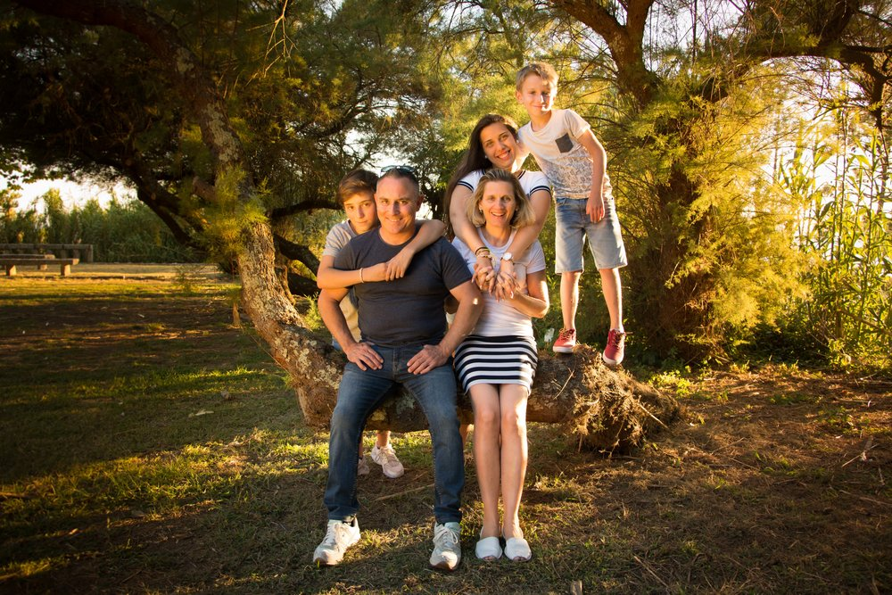 Sesión de fotos de familia Galicia