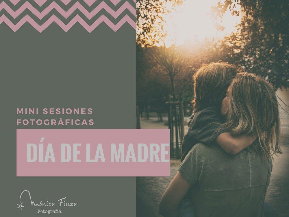 Mini sesión día de la madre Galicia