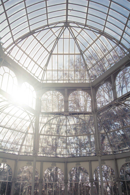 Parque de El Retiro Palacio de Cristal