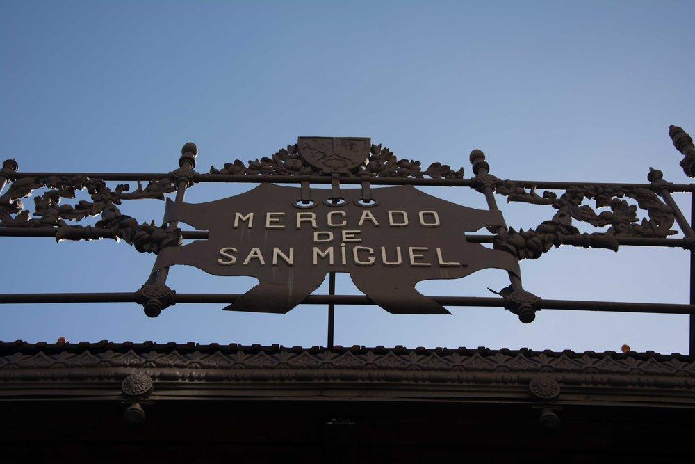 Madrid. Mercado de San Miguel