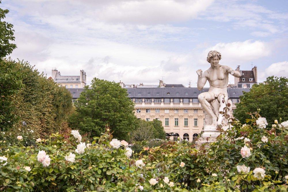 Paris Jardines del Palais Royal