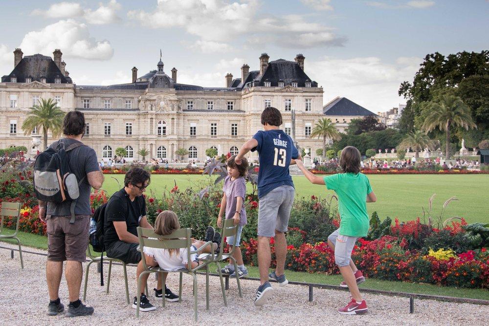 Jardines de Luxemburgo Paris