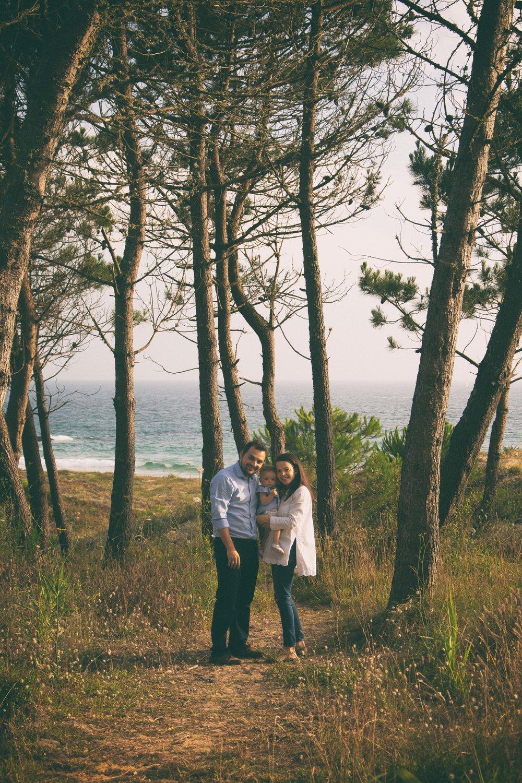 Sesión fotos familia Galicia