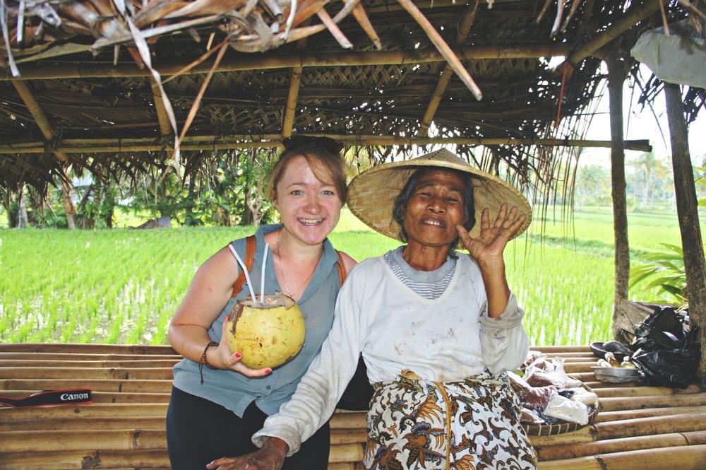 Rice Paddy Walk Coconut Farm