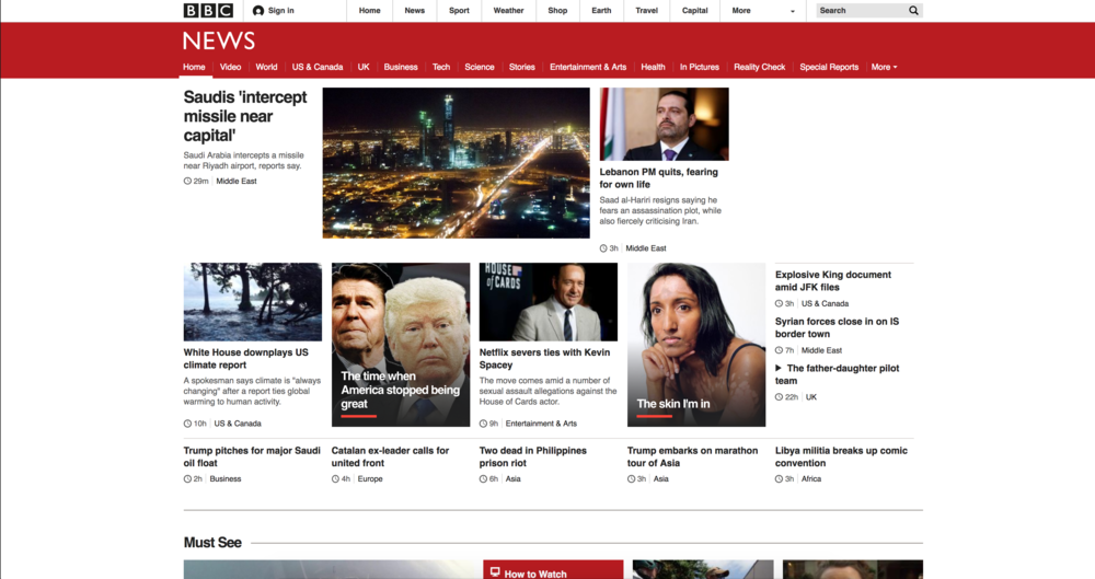 The BBC -