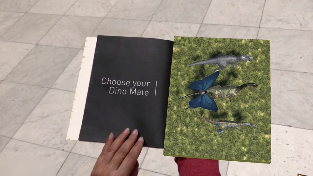Dinosaur Passage  Crafting Mixed Reality museum experiences