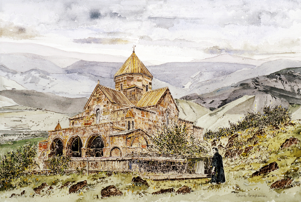 Church VI , from the  Armenia  collection.