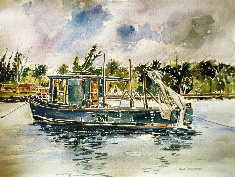 Fishing Boat in Freeport , from the  Bahamas  collection.