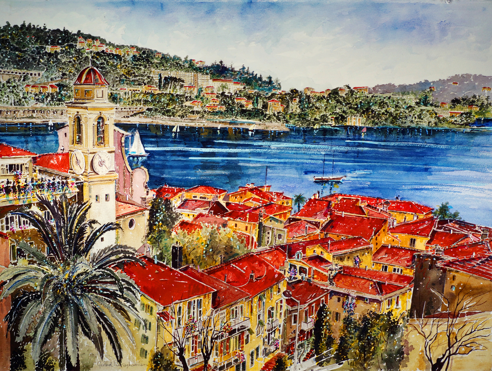 Villefranche, Côte d'Azur , from the  Europe & The French Riviera  collection.