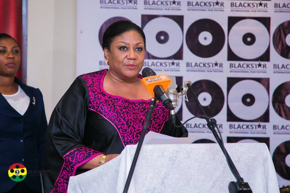 1st Lady of Ghana speaks..