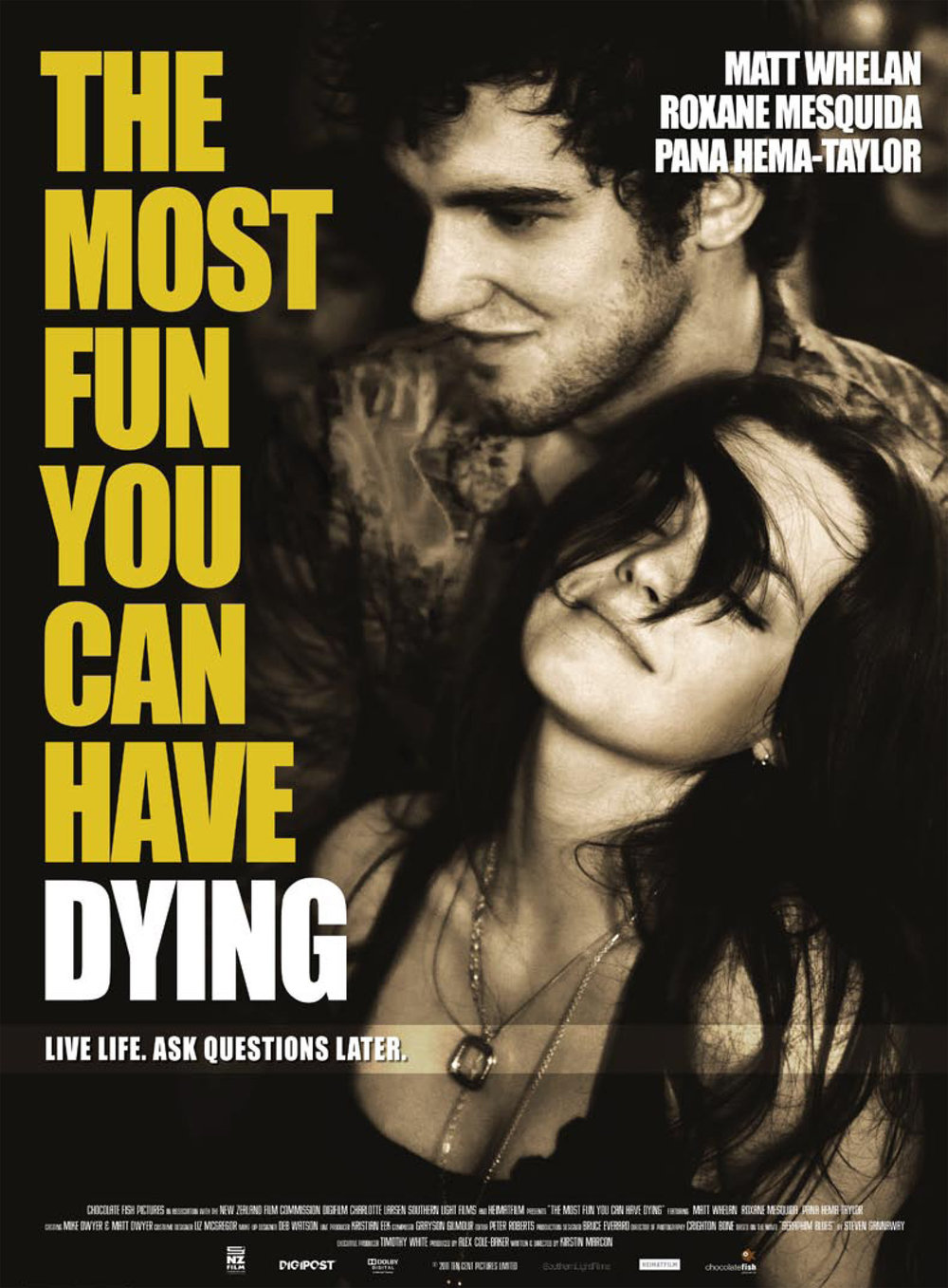 The Most Fun You Can Have Dying   NZ Feature Film
