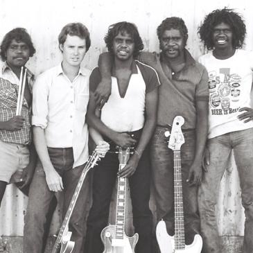 The Warumpi Band, 1981.