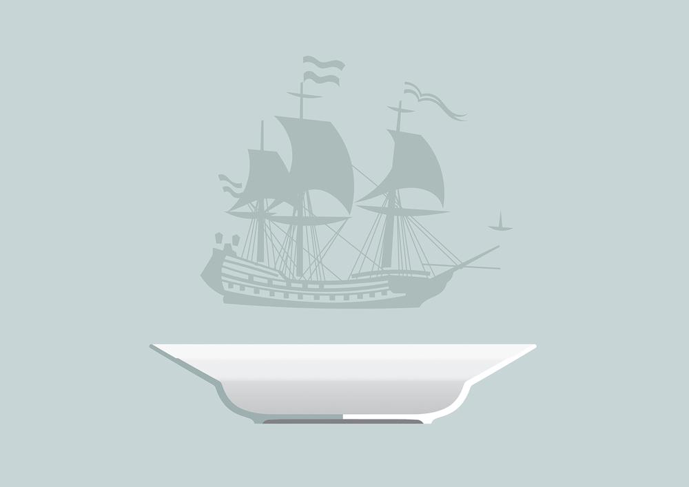 Porcelain Plate Profile Detail