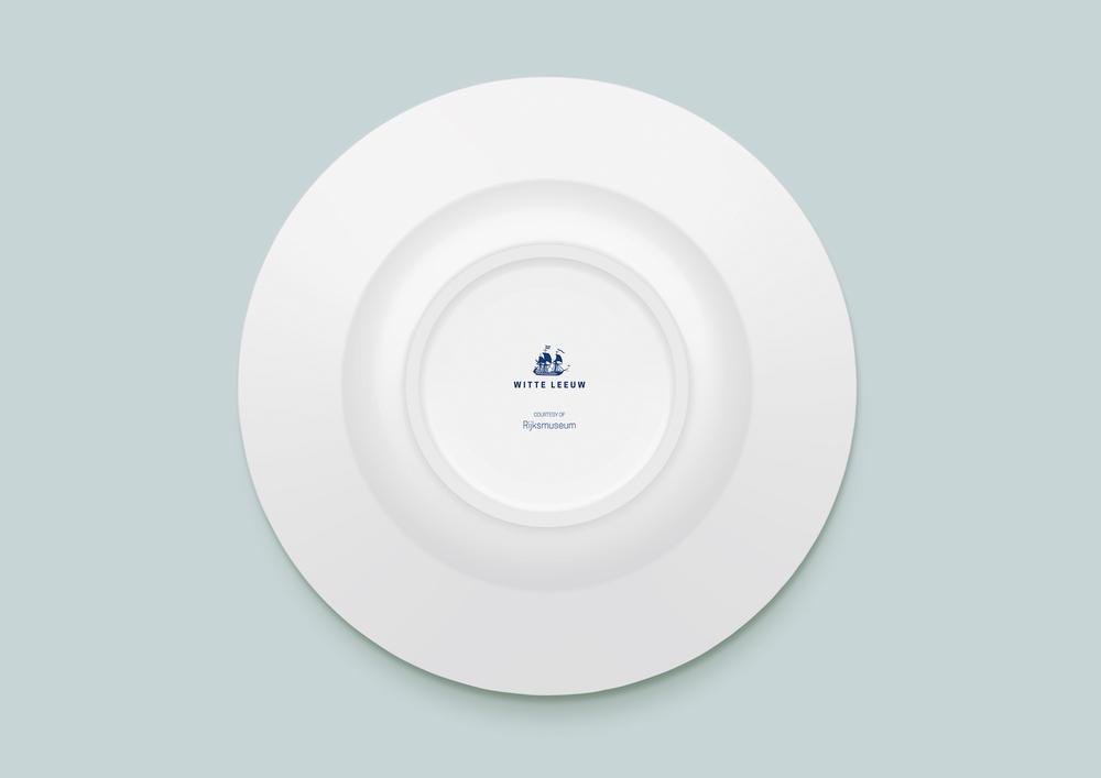 Porcelain Plate Bottom Detail