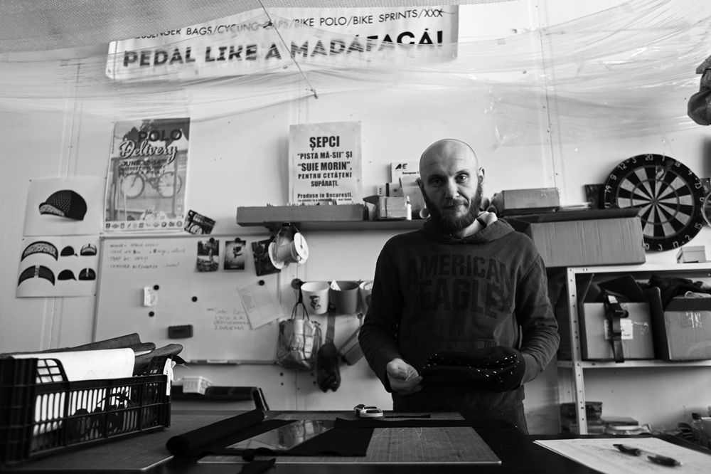 Bogdan Neagu, product designer and founder of Turific Handmade