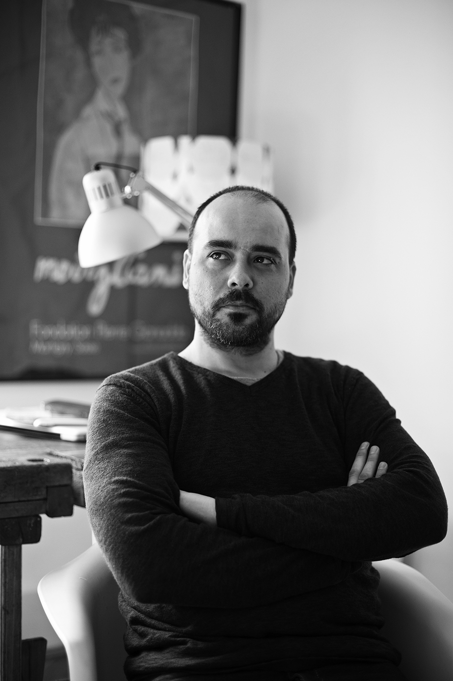 Ciprian Andrei, self-taught product designer and founder of Atelier Mustata
