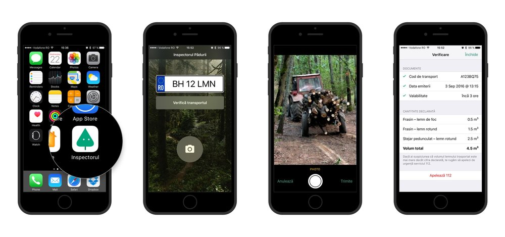 Forest Inspector App