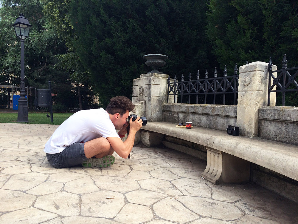 Photoshooting at Luigi Cazzavillan Park, Bucharest