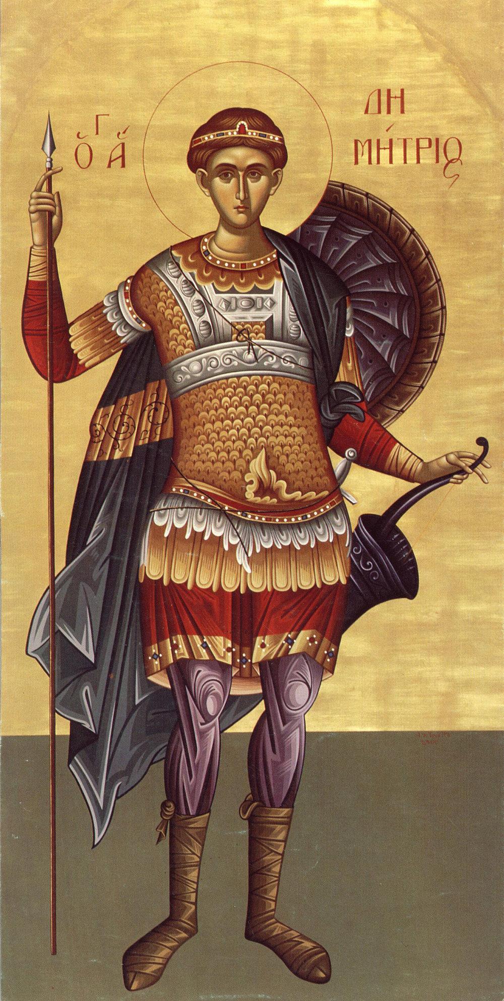 Sfântul Dimitrie cel Vechi—Izvorâtorul de Mir
