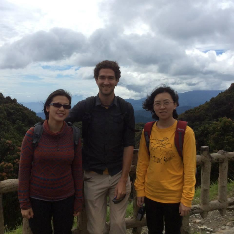 Group - Visiting volcanoes near Bandung, Indonesia