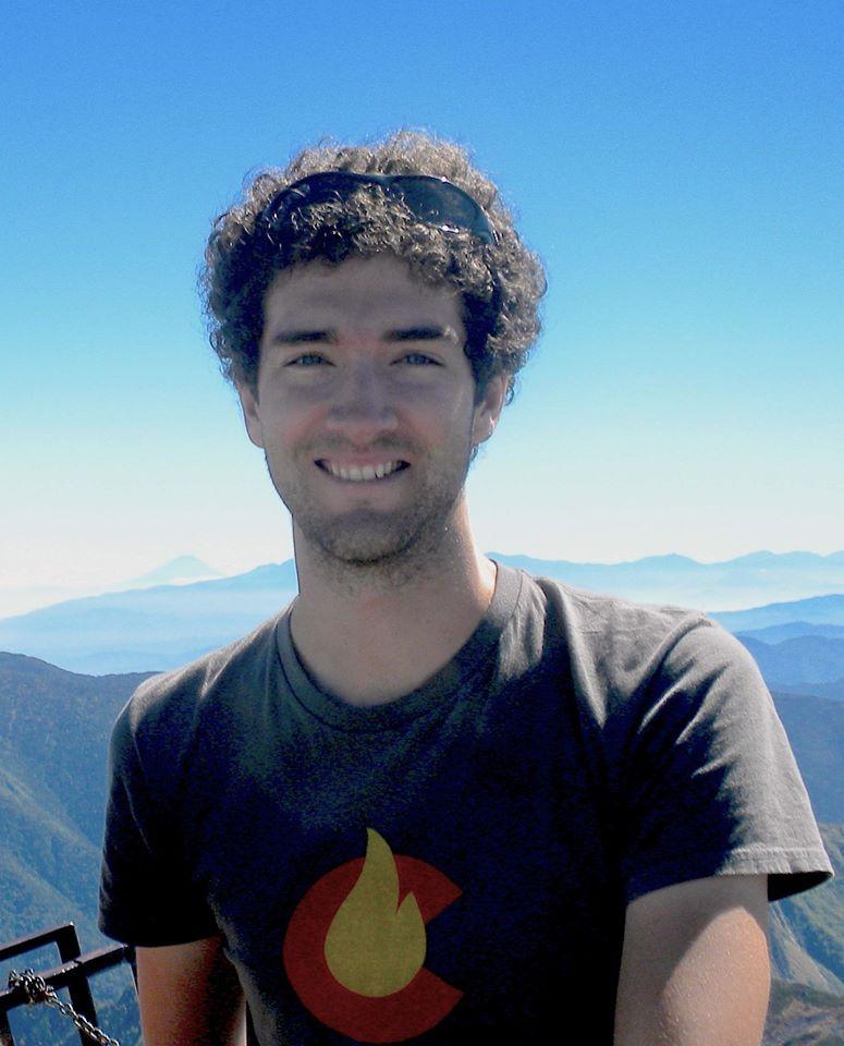 Eric with Mt Fuji
