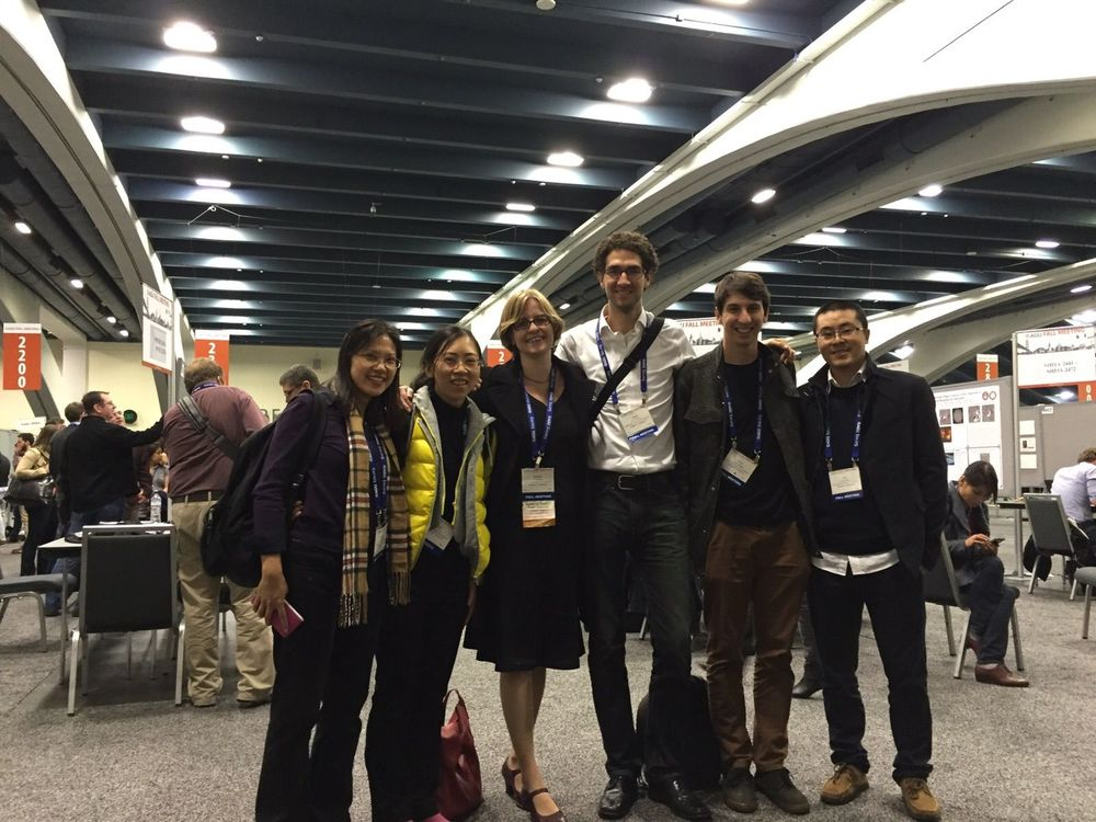 Group - AGU 2015 (missing Rino)