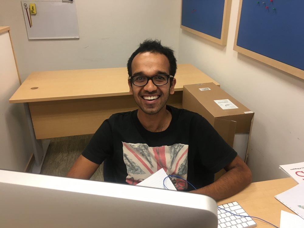 Rishav Mallick, PhD student
