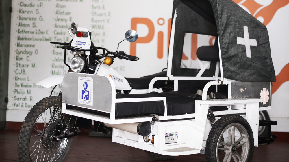 E-Ranger Motorcycle Ambulance
