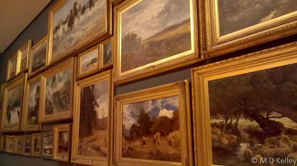 Wall of paintings, NGV Melbourne, Windows Phone.jpg