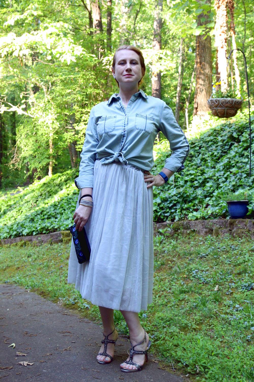 2.  Bardot POW: Boho Southwestern Sparkly Princess Sunday Best