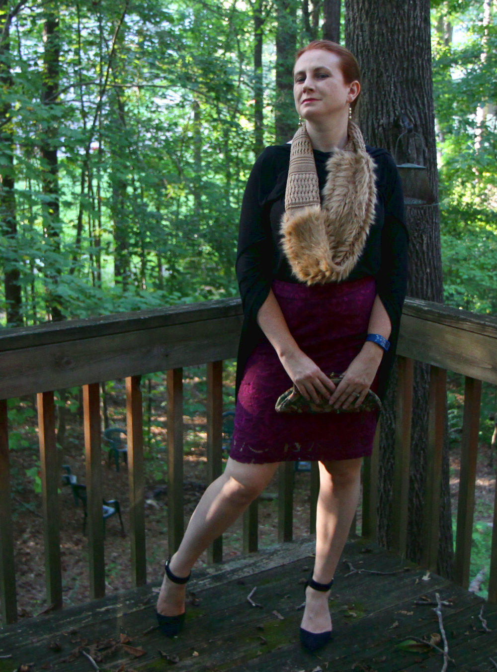 1.  Beyond POW: Chic Classy and Faux Fur Sunday Best