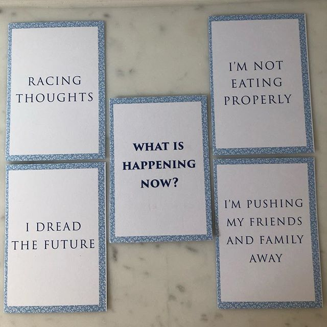 It's sometimes difficult to talk honestly about the way you're feeling. To help, we use our unique model called Lay Your Cards on the Table. Developed in-house, we use different decks of cards throughout our intervention to help the men we see articulate the way that they feel. This is the first deck of cards that we use and here are some of the most selected answers. #mentalhealth #liverpool #jamesplaceuk #time2talk 💙