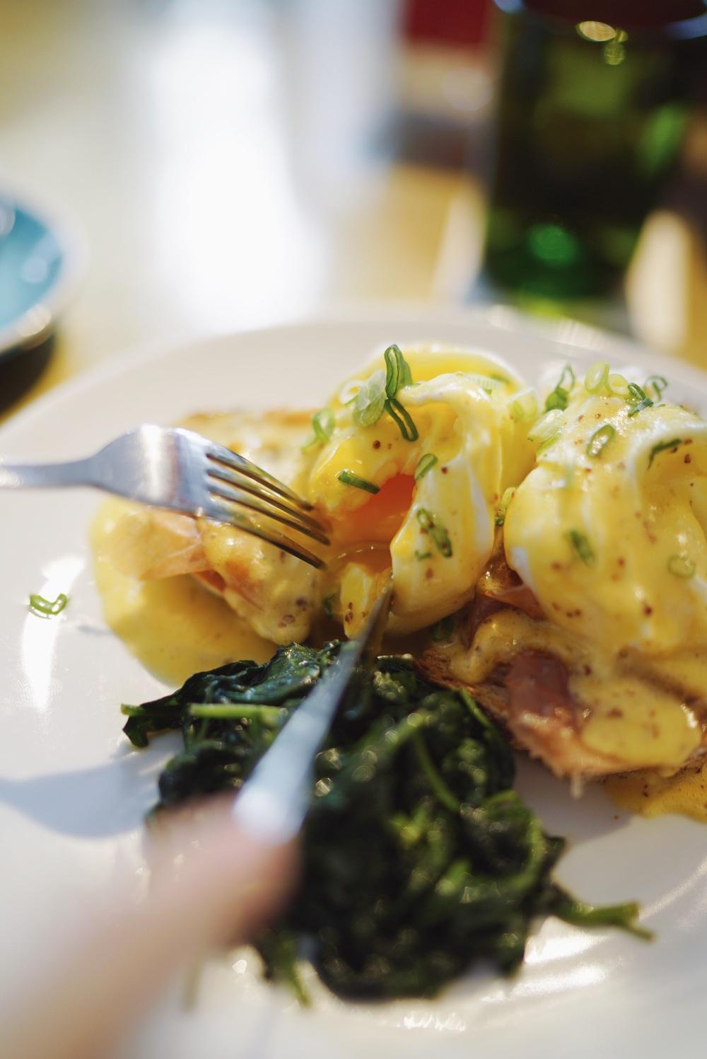 Eggs Benedict Prosciutto Hollandaise