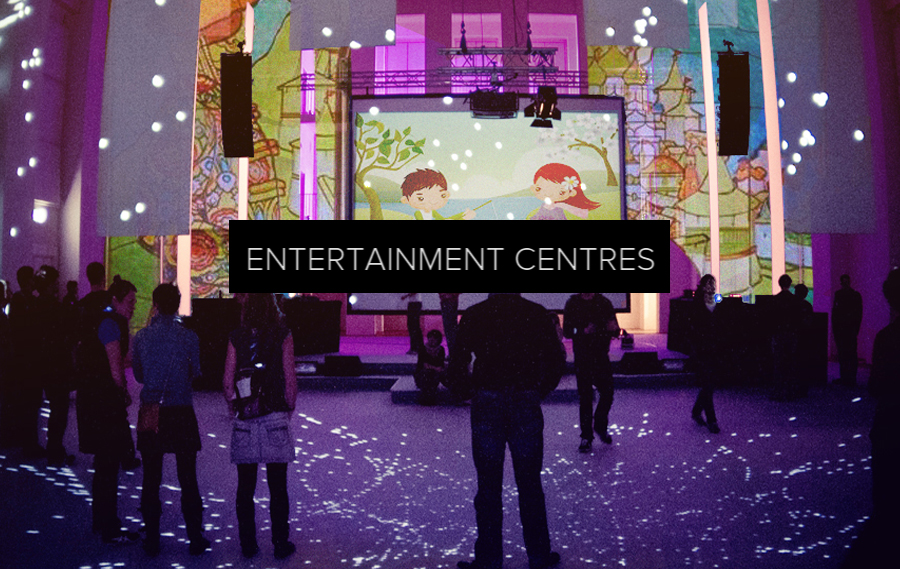 Entertainment centres and dining - From interactive bowling alleys and gaming to animated children's playgrounds and immersive dining.
