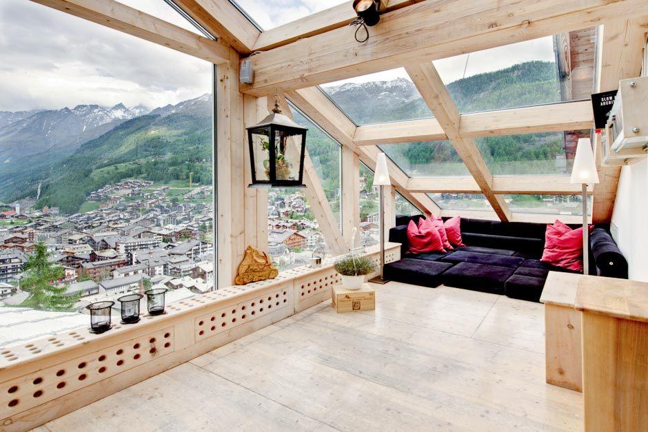 Chalet in Zermatt, Swiss Alps