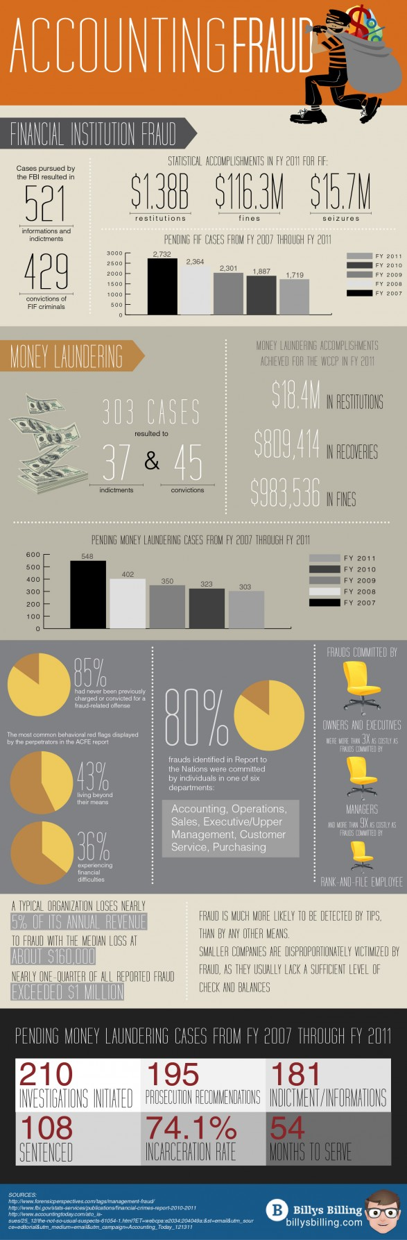 Accounting Fraud Infographic