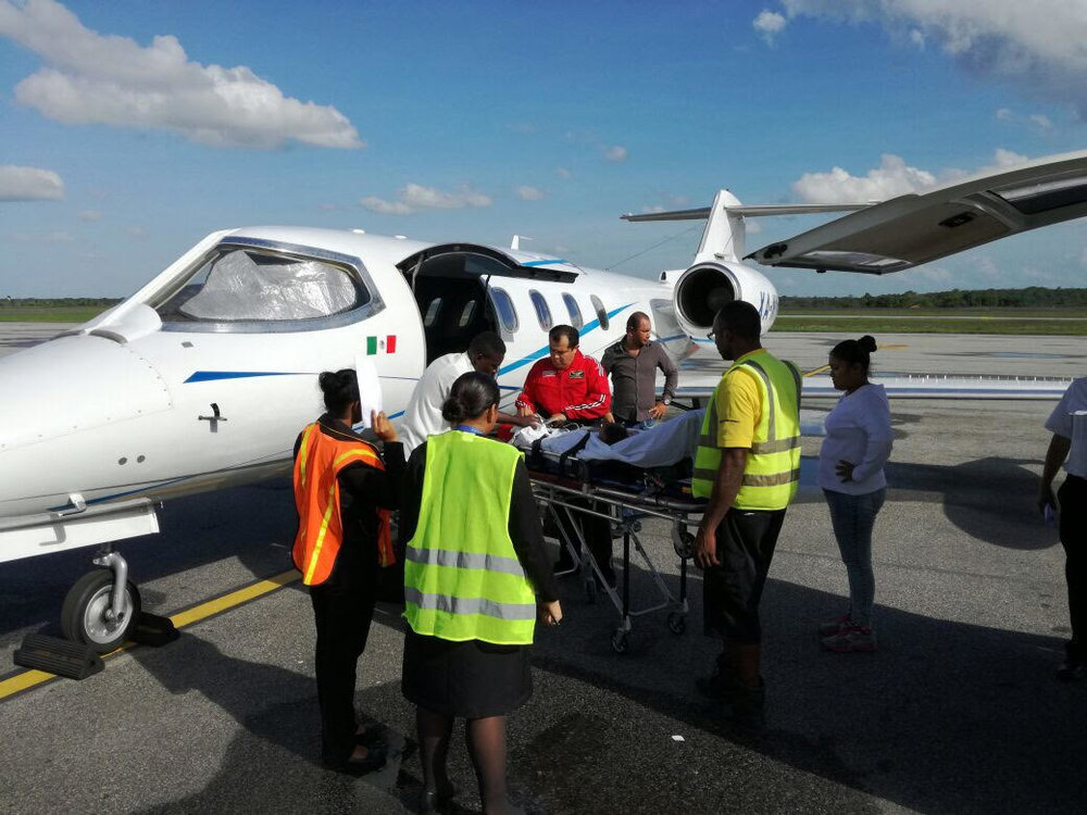 Leaving Guyana