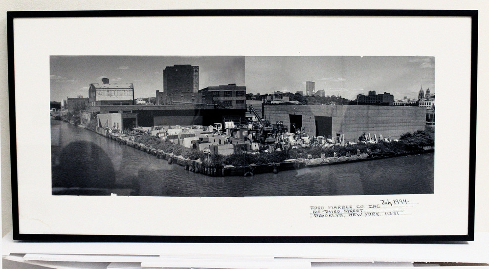Original foro Marble location.  -  gowanus canal, brooklyn nyc, circa 1994