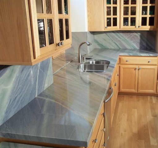 Azul Macaubas Kitchen Counters