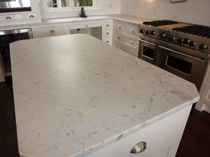 Honed Or Polished Marble Countertops